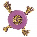 Pet Brand  Interrope Knotted Ball & Rubber Tyre