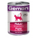Gemon Pate with Beef – Adult Cat Πατέ Βοδινού 400γρ.